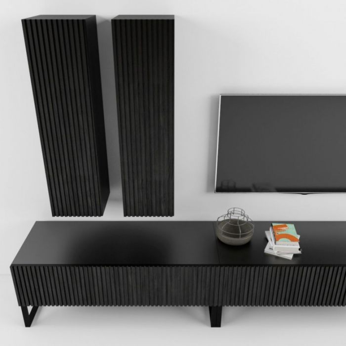 Тумба под телевизор ARRIS Black - дизайнерские товары на Take&Live