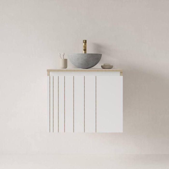 Тумба для ванной комнаты Stripe White - дизайнерские товары на Take&Live