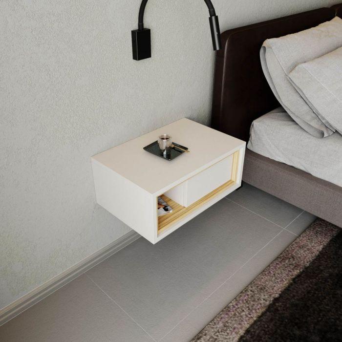 Тумба прикроватная подвесная TSD1 01 - дизайнерские товары на Take&Live