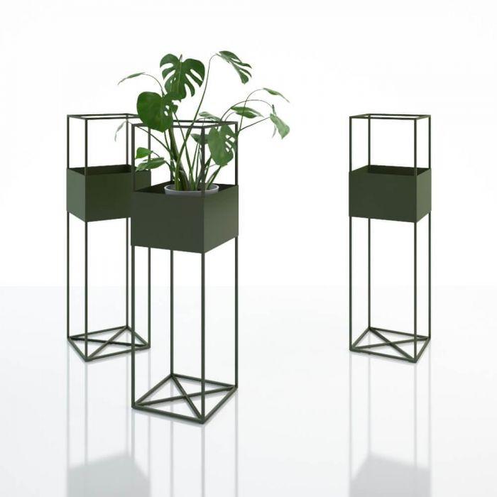 Ваза цветочная Herba metal 1050 - дизайнерские товары на Take&Live