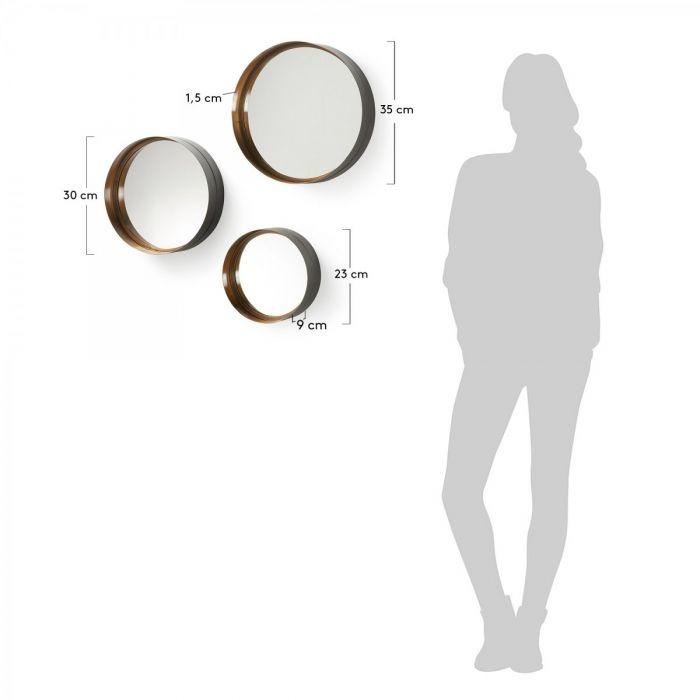 Зеркало Трио WILSON - дизайнерские товары на Take&Live