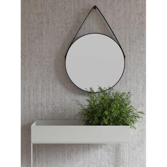 Зеркало с ремнем YU White - дизайнерские товары на Take&Live