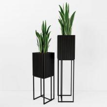 Кашпо для цветов ARRIS Black - дизайнерские товары на Take&Live