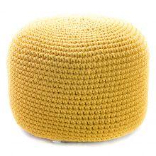 Пуф Round Yellow - дизайнерские товары на Take&Live